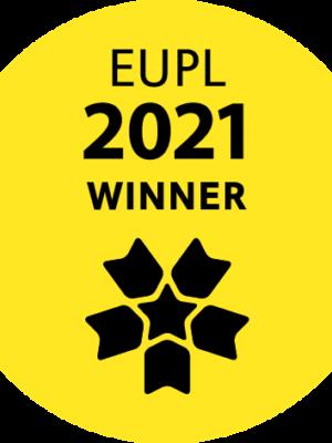 sticker eupl2021 winner